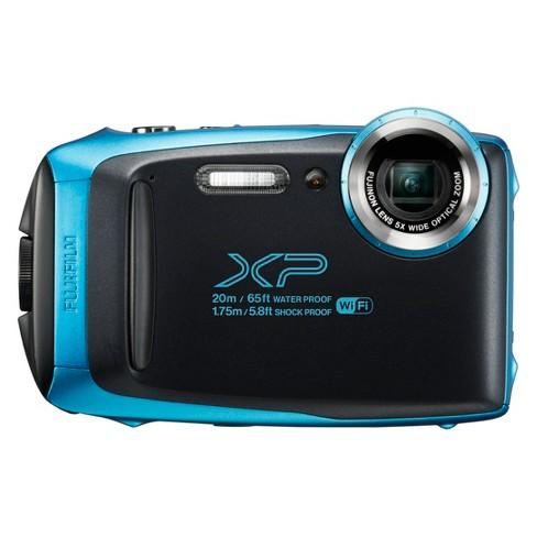 fujifilm finepix xp130 digital camera sky blue target