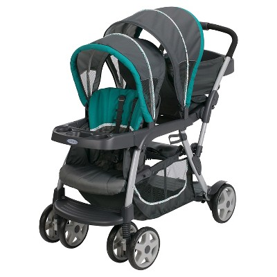 Graco® Ready2Grow Click Connect Double Stroller - Smarties