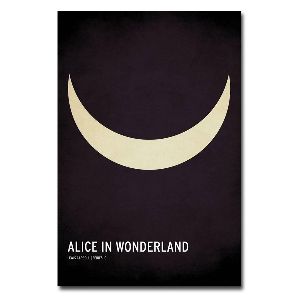 16 34 X 24 34 Alice In Wonderland By Christian Jackson Trademark Fine Art