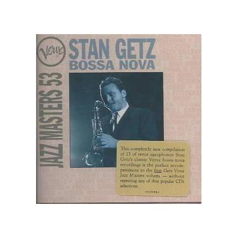 Stan (Sax) Getz - Verve Jazz Masters 53: Bossa Nova (CD) - image 1 of 1