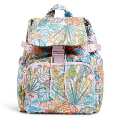 Vera Bradley Women's Recycled Cotton Utility Backpack