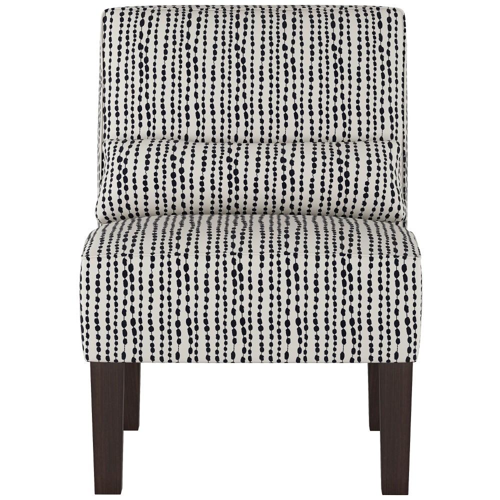 Burke Slipper Chair Indigo (Blue) - Threshold