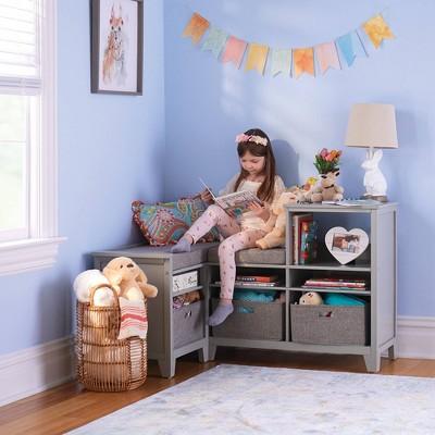 Living & Learning Kids' Corner Nook Gray - Martha Stewart