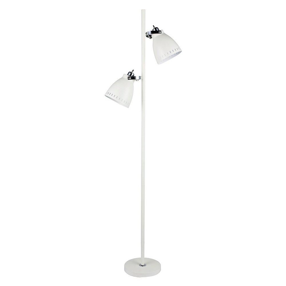 Metal Tree Floor Lamp - White (68.5)