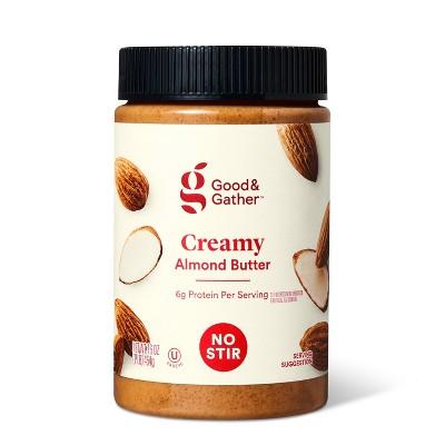 No Stir Creamy Almond Butter 16oz - Good & Gather™