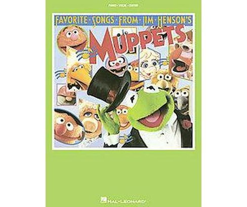 Favorite Songs from Jim Henson's Muppets (Paperback) - image 1 of 1
