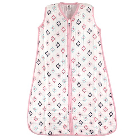 huge discount 09589 1bf54 Hudson Baby Safe Sleep Wearable Muslin Sleeping Bag - Girl Aztec - 12-18M