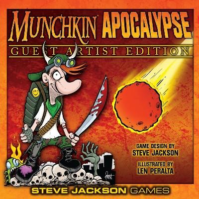 Munchkin Apocalypse (Guest Artist Edition, Len Peralta) Board Game