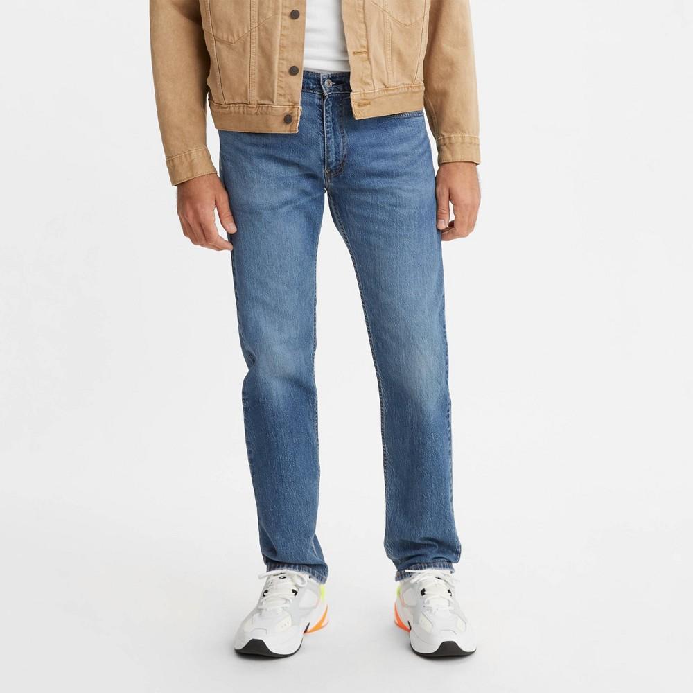 Levi 39 S 174 Men 39 S 505 8482 Straight Regular Fit Jeans Denim Blue 34x34