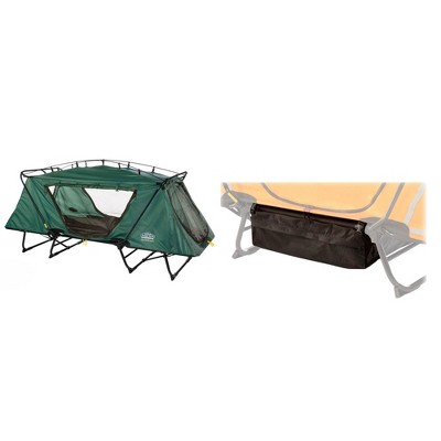 Kamp Rite Camping Gear Storage Bag Tent Cot and Outdoor Camping Bed for 1 Person