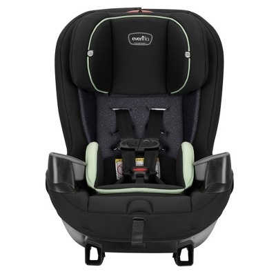 Evenflo Stratos 65 Forward/Rear Facing Convertible Car Seat, Pikes Peak Black