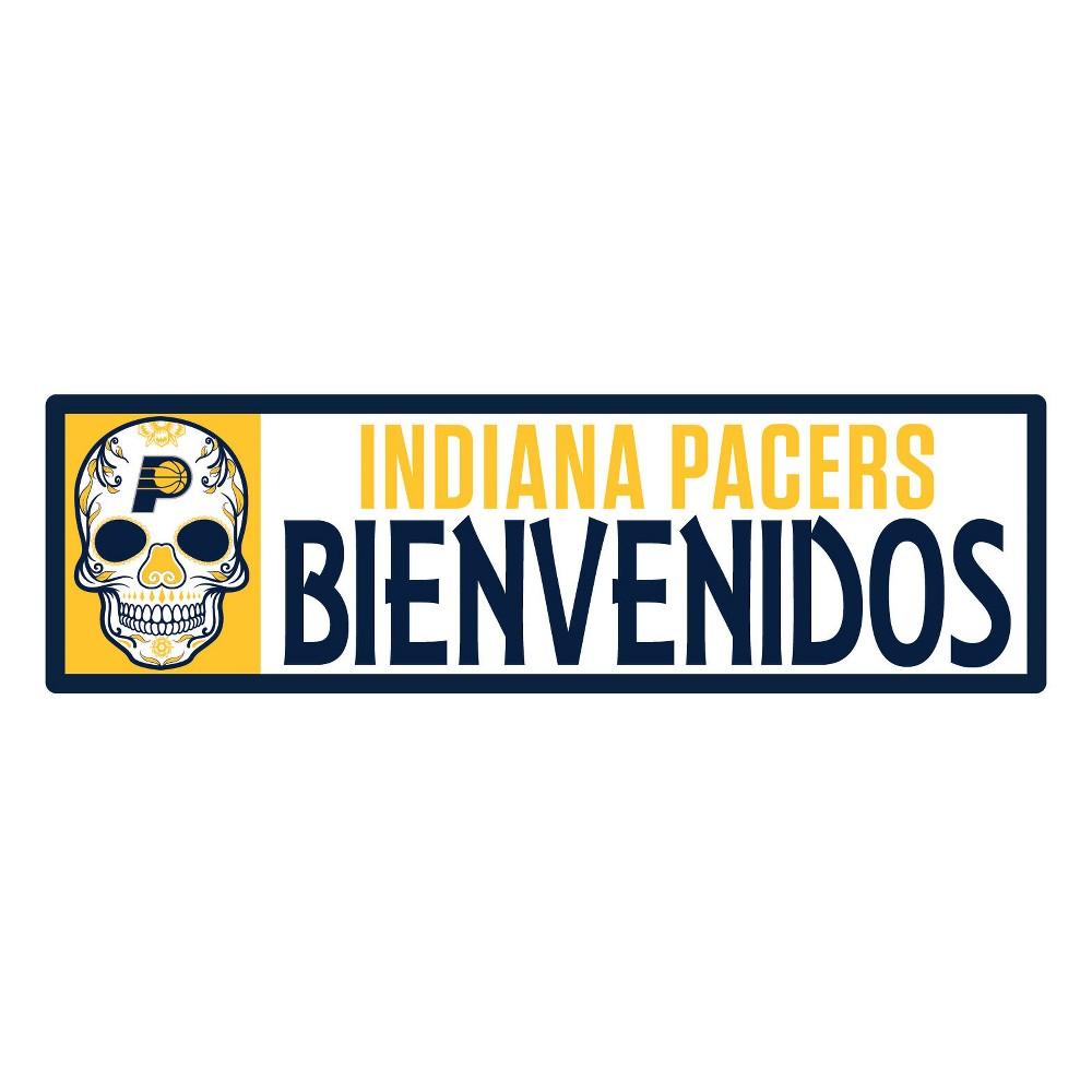NBA Indiana Pacers Outdoor Bienvenidos Step Decal