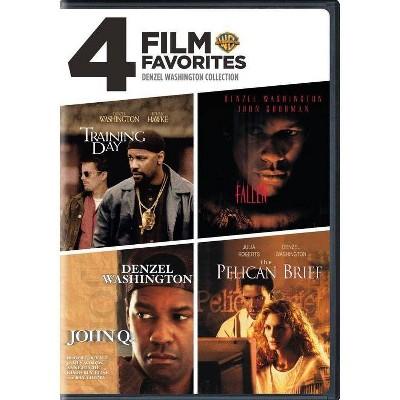 4 Film Favorites: Denzel Washington (DVD)(2015)
