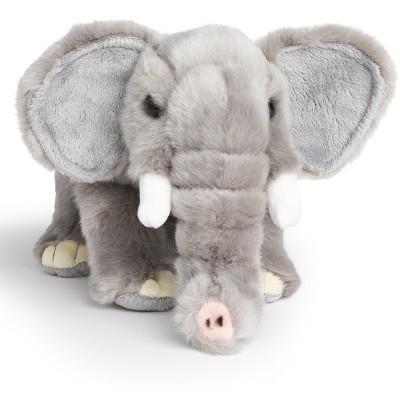 FAO Schwarz Toy Plush Elephant 9inch