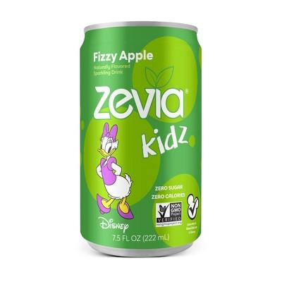 Zevia Kidz Fizzy Apple Zero Calorie Soda - 6pk/7.5 fl oz Cans