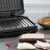 George Foreman Rapid Grill Series 4-Serving Removable Plate Electric Indoor Grill and Panini Press - Red RPGF3602RD - image 4 of 4