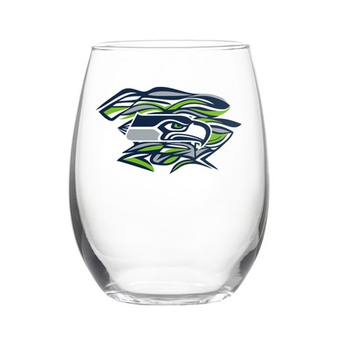 NFLxFIT Seattle Seahawks 16oz Stemless Wine Glass - image 1 of 1