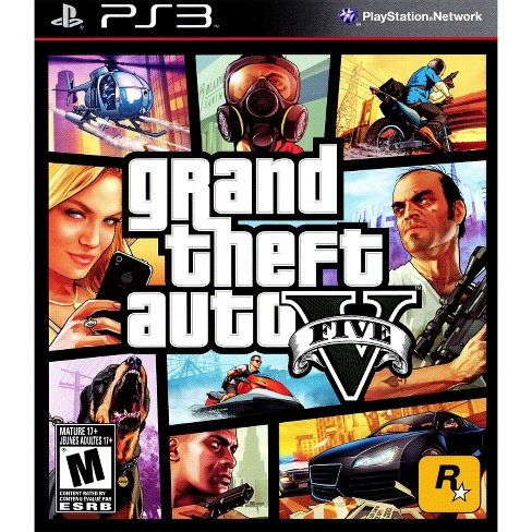 Grand Theft Auto V PRE-OWNED Game PlayStation 3 - image 1 of 1
