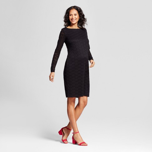 5d2e44ccae4 Maternity Lace Dress - Isabel Maternity By Ingrid   Isabel™   Target