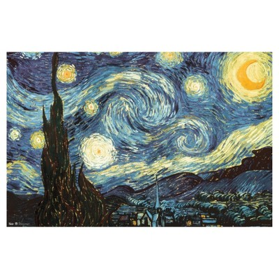 Starry Night Poster 34x22 - Trends International