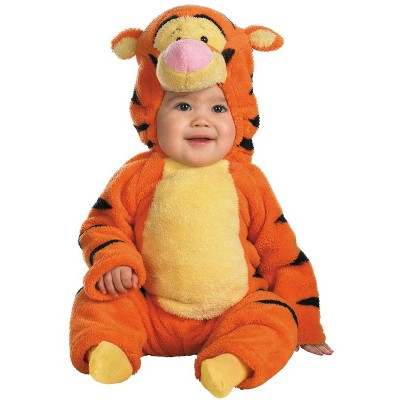 Winnie the Pooh Disney Winnie The Pooh Tigger Deluxe Two-Sided Plush Jumpsuit Infant/Toddler Costume