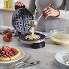 Oster DiamondForce Nonstick Belgian Waffle Maker - Silver - image 2 of 4