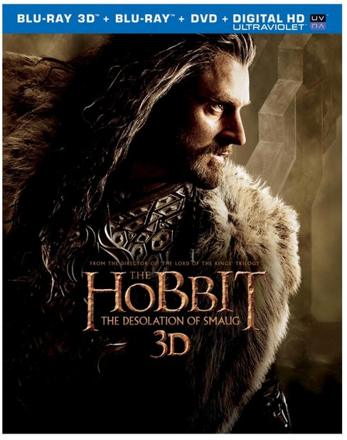 The Hobbit: The Desolation of Smaug [Includes Digital Copy] [UltraViolet] [3D/2D] [Blu-ray/DVD] - image 1 of 1