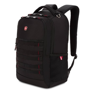 "SWISSGEAR 18.5"" Backpack with Laptop Pocket - Black"