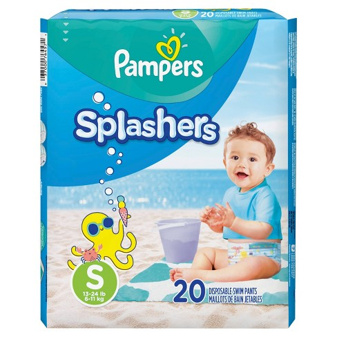 Pampers Splashers Swim Diapers - Jumbo Pack (Select Size) - image 1 of 4