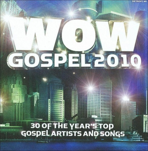 Various Artists - Wow Gospel 2010 (CD) - image 1 of 3