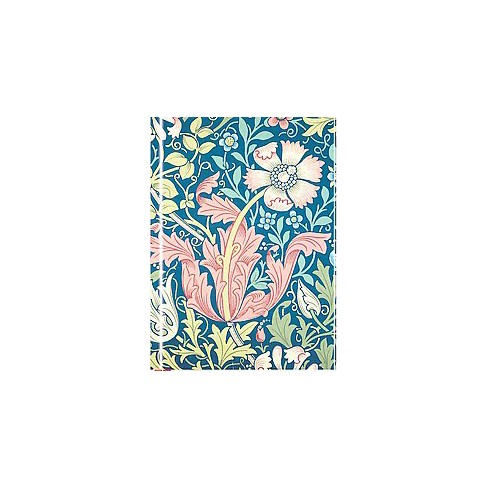 Compton Wallpaper By William Morris Foiled Notebook Hardcover Target