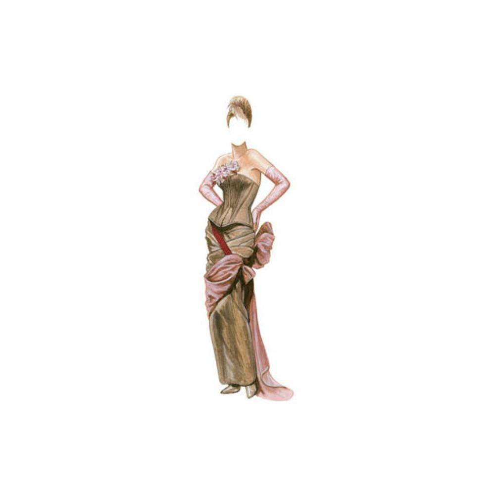 Corset Couture Paper Dolls - (Dover Paper Dolls) by Brenda Sneathen Mattox (Paperback) Compare