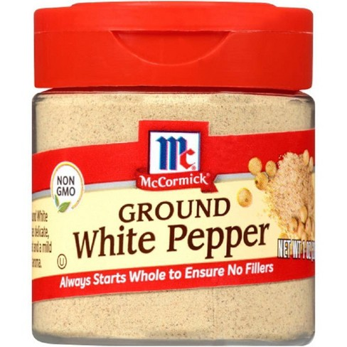 McCormick White Ground Pepper - 1oz - image 1 of 4