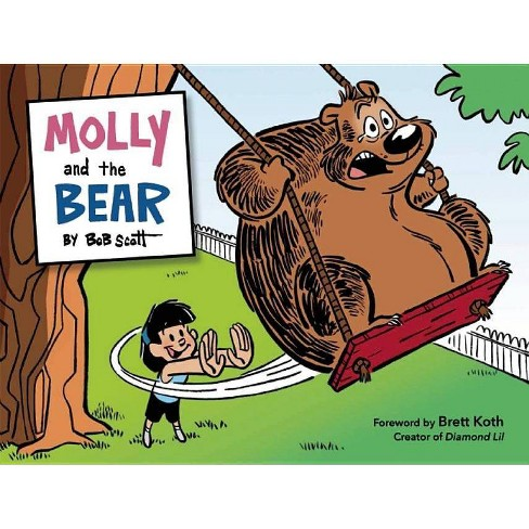 Molly and the Bear - by  Bob Scott (Hardcover) - image 1 of 1
