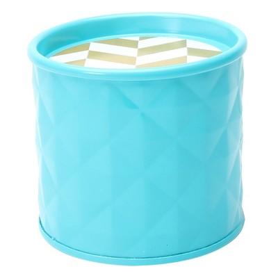 Geometric Shape Tin Candle Toasted Coconut 7.4oz - SOHO Brights