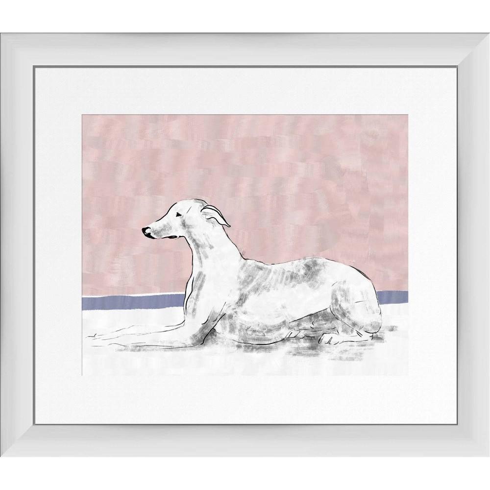 15 34 X 13 34 Elegance Framed Wall Art White Ptm Images