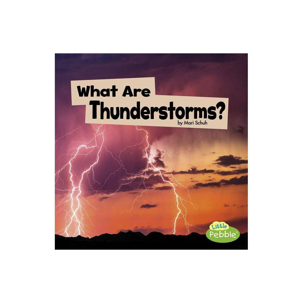 What Are Thunderstorms Wicked Weather By Mari Schuh Paperback