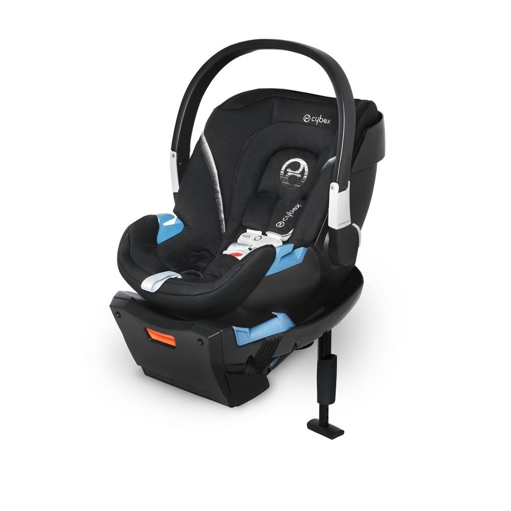 Image of Cybex Aton 2 Sensor Safe Infant Car Seat - Lavastone Black