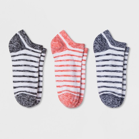 Women's Casual 3pk Socks - A New Day™ Colors Vary One Size - image 1 of 1