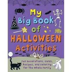 My Big Book of Halloween Activities - by  Clare Beaton (Hardcover)