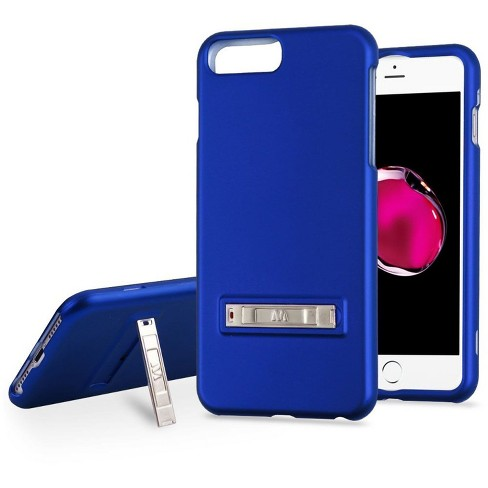 MYBAT For Apple iPhone 6 Plus/6s Plus/7 Plus/8 Plus Blue Hard Hybrid Case w/stand - image 1 of 4