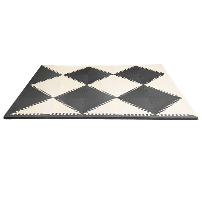 Skip Hop Activity Playmat- Black/Cream