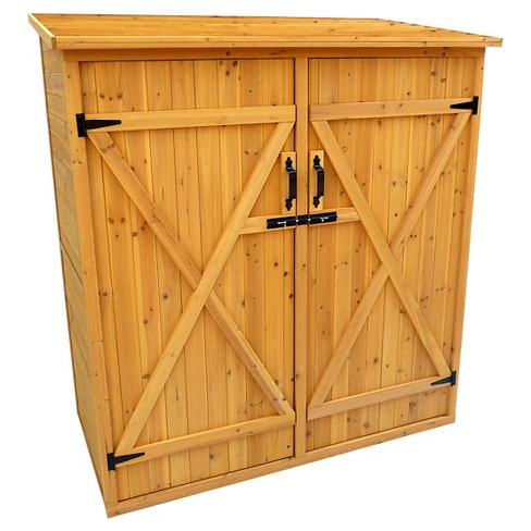 Medium Storage Shed - Brown - Leisure Season - image 1 of 2