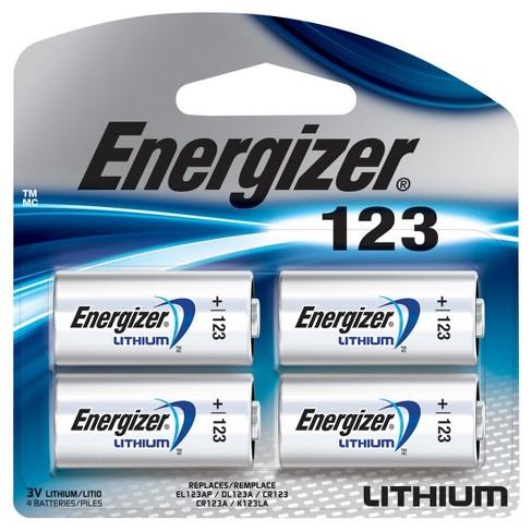 Energizer El123bp 4 Photo Lithium Universal Battery 123 4 Target