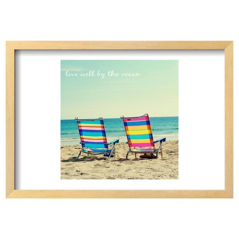 "By The Ocean By Gail Peck Framed Poster 19""X13"" - Art.Com - image 1 of 4"