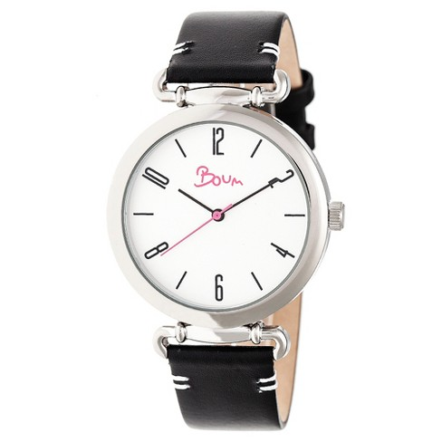 Boum Lumiere Ladies Leather-Band Watch - image 1 of 3