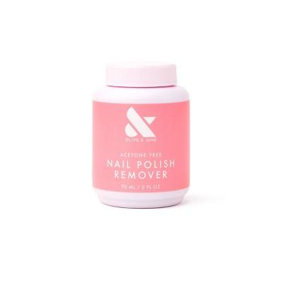 Olive & June Acetone Free Nail Polish Remover - 2 fl oz