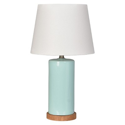 Column Table Lamp Aqua - Pillowfort™