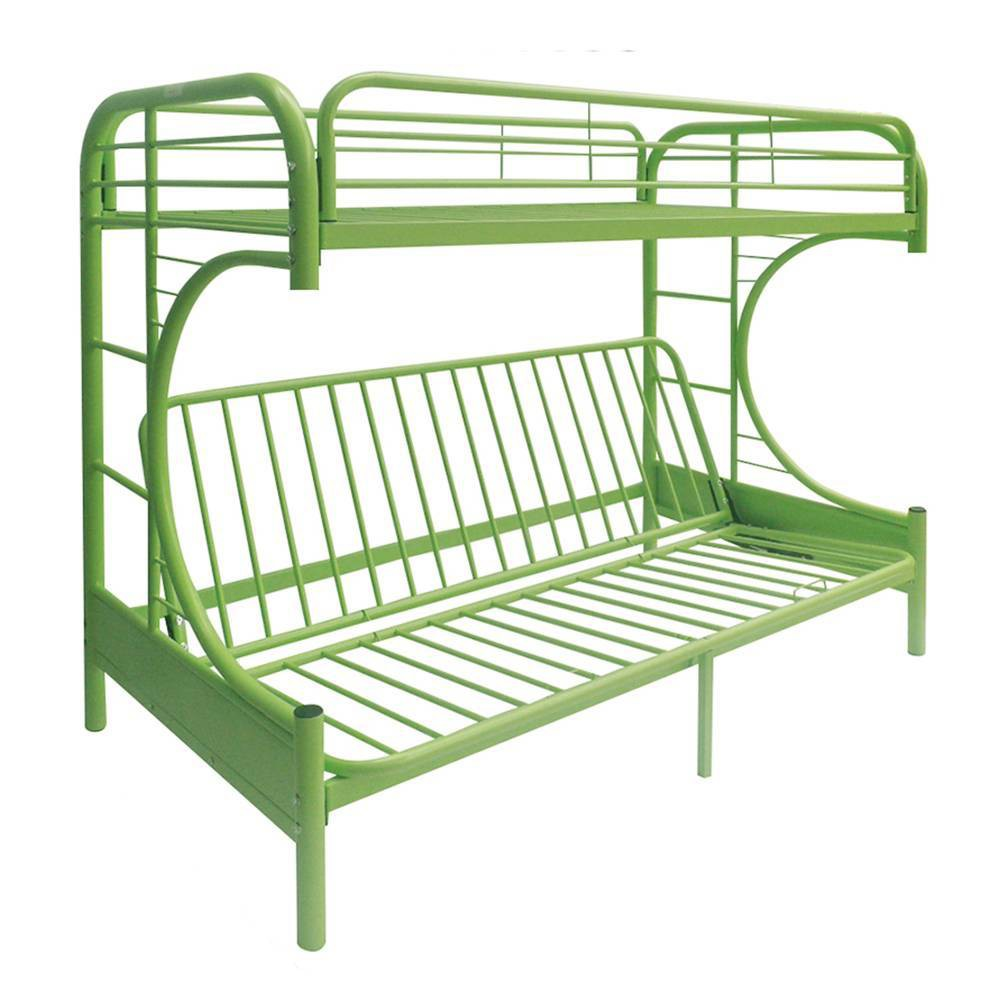 Twin Over Full/Futon Eclipse Bunk Bed Green - Acme