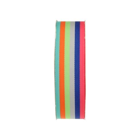 Stripe Fabric Ribbon - Spritz™ - image 1 of 2